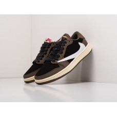 Кроссовки Nike Air Jordan 1 Low x Travis Scott